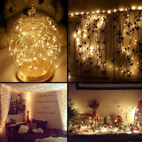 led chambre aliexpress com buy agm silver copper wire led string