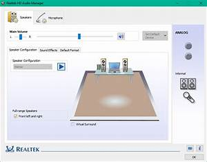 How to use Realtek HD Audio Manager to boost PC Sound