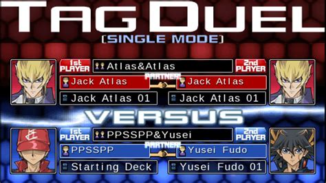 yu gi oh psp force iso tag ppsspp 5d 5ds games screenshots eur setting
