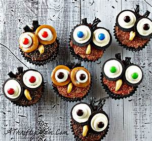 Hootie Owl Cupcakes