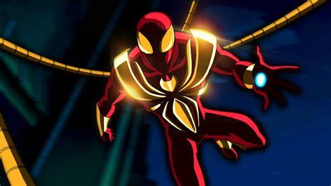 Captain America Civil War Spiderman Wallpaper Iron Spider Wallpaper Wallpapersafari