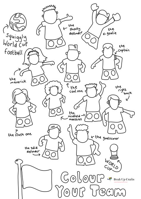 Paper Finger Puppets Templates by 8 Best Images Of Football Player Cut Out Printable