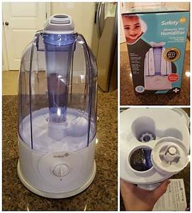 Safety 1st 360 Cool Mist Ultrasonic Humidifier Instructions