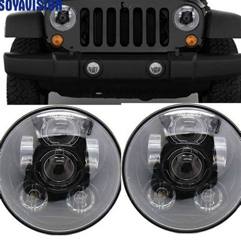 Lada Led 15w by Car Accessories 7 Inch Black Headlight For Lada 4x4
