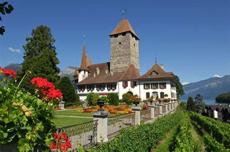 Spiez Castle Museum Switzerland Tourism