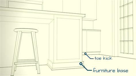 Open Door ArchitectureCabinets: Toe Kick versus Furniture