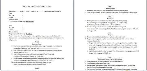 contoh surat pernyataan aset contoh oi