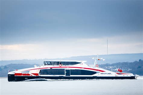 danube high speed  wash ferry offers  level  efficiency  reliability