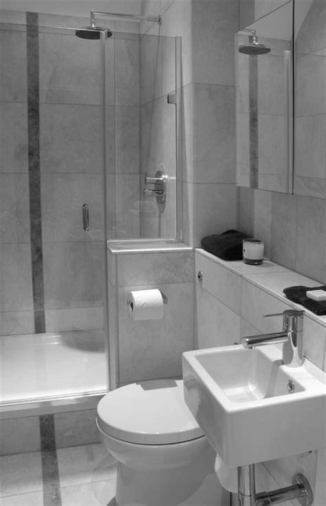 15 Space Saving Tips for Modern Small Bathroom - Interior