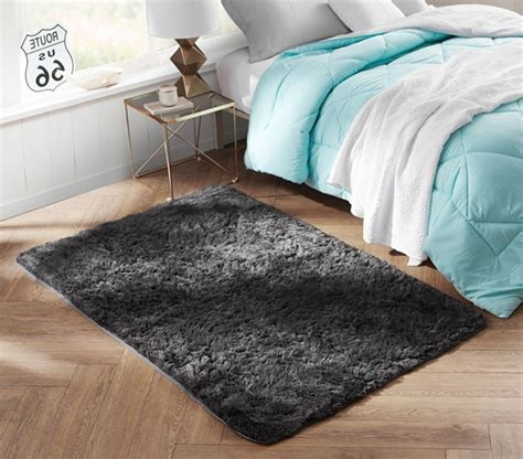 A Dorm Essential  College Plush Rug  Keep Feet Comfortable