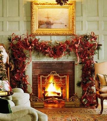 standout christmas fireplaces colonial  classical