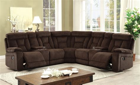 sectional sofas las vegas maybell chenille fabric reclining sectional las vegas