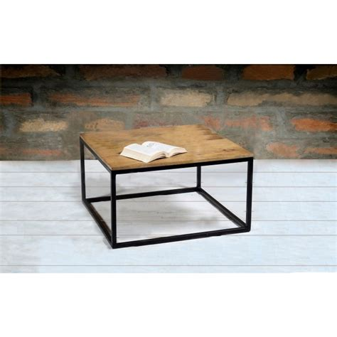 Modern coffee table with lower shelf storage glass chrome living room furniture. Suri Modern Industrial Modern Square Coffee Table in Mango Wood & Metal Detail | Furniture123
