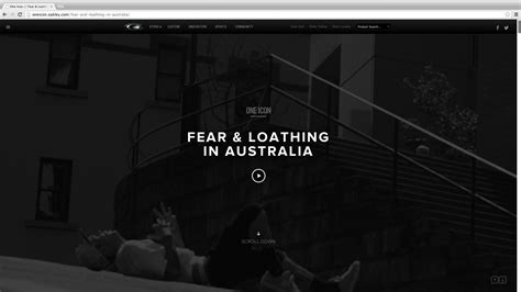 Continuous Scrolling Website Template by Trend Spotlight Scrolling Websites And Parallax Design