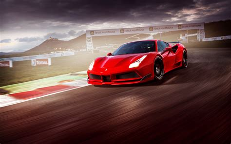 488 Gtb Hd Picture by 488 Gtb N Largo Wallpaper Hd Pictures