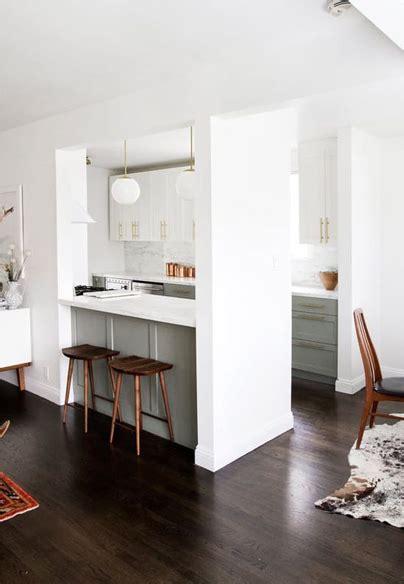 cocina integrada en el salon oslaett