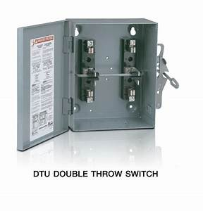 Safety Switches Fusible Type And Non-fusible Type