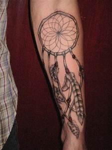 Tatouage Attrape Reve : tatouage dreamcatcher attrape r ves 4 inkage ~ Carolinahurricanesstore.com Idées de Décoration
