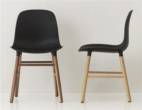 chaise japonaise chaise form pied noyer noir noyer normann copenhagen