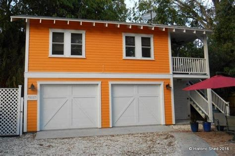 story  car garage apartment historic shed florida