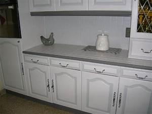 hs repeindre carrelage de la credence de cuisine With recouvrir du carrelage de cuisine