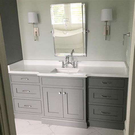 grey cabinet paint color sherwin williams sw