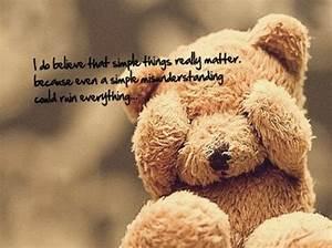 Most Cute Teddy... Cute Bear Quotes