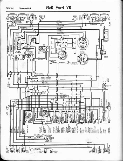 57 Ford Truck Wiring Diagram by 57 65 Ford Wiring Diagrams