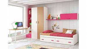 Lit Maison Enfant : chambre pour ado fille de couleur peps glicerio so nuit ~ Farleysfitness.com Idées de Décoration