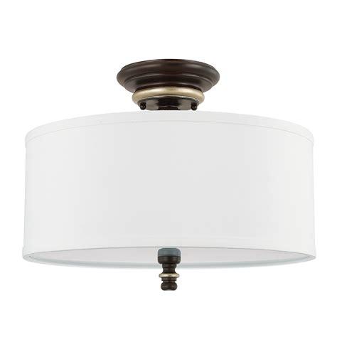 semi flush lighting 3 light semi flush capital lighting fixture company