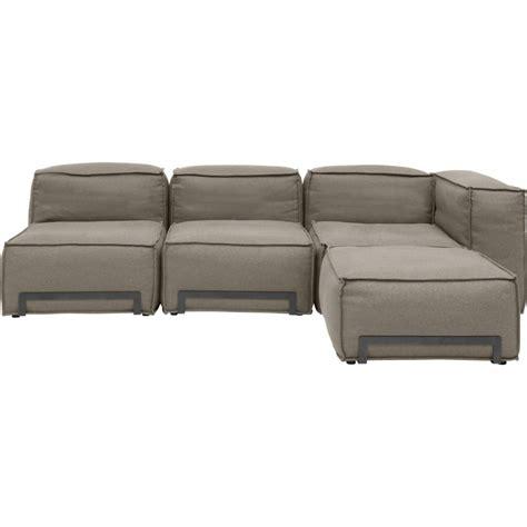 canapé design modulable canapé padded modulable avec pouf fauteuil et élément d 39 angle