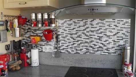 carrelage mural cuisine carrelage mural smart tiles murano metallik photo client