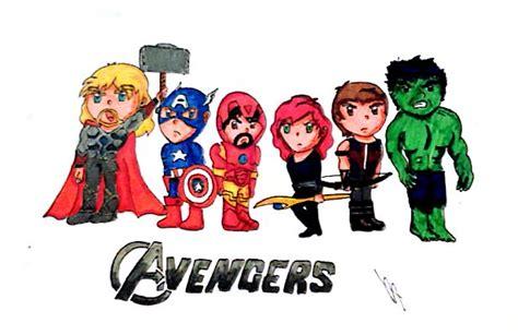 The Avengers Chibi By Cristallights On Deviantart