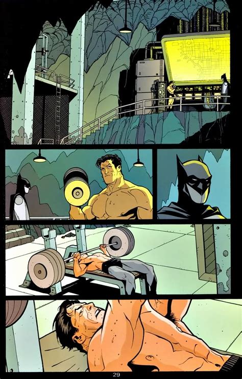 How Much Could Bruce Bench Press by How Much Can Batman Lift Batman Comic Vine