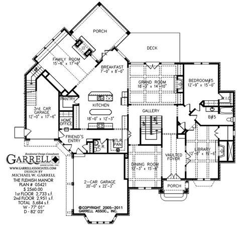 european floor plans european estate house plans luxamcc