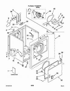 Kenmore Clothes Dryer Wiring Diagram