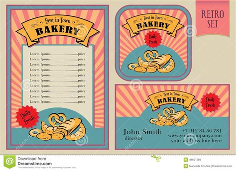 Vintage Vector Bakery Labels Collection Stock Vector Best Business Cards Scanner Black Backgrounds With Niceic Logo Background Png Makeup Artist Free India Credit Artists