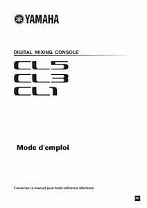 Notice Yamaha Cl1