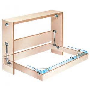 side mount murphy bed hardware select size rockler