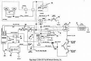 Ariens 915009  000101 -   Ezr 1648  16hp B U0026s  48 U0026quot  Deck Parts Diagram For Electrical