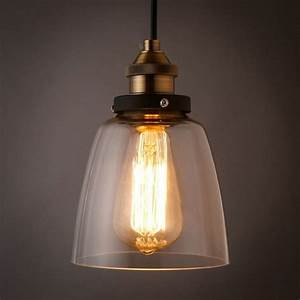 Wonderful popular clear glass pendant light shade buy