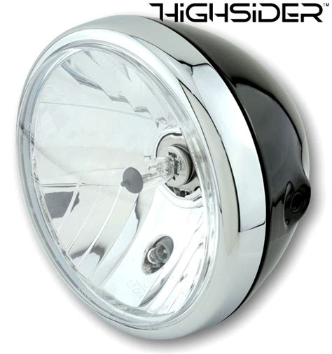 Bikermart Highsider Reno 7 Inch Motorcycle Headlight With