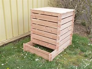 Palette Bois Pas Cher : fabriquer un composteur en bois avec des palettes survl com ~ Premium-room.com Idées de Décoration