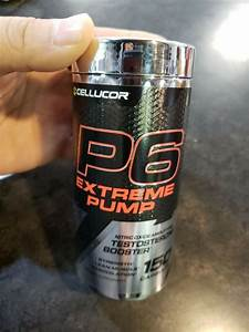 New Cellucor P6 Extreme Pump Nitric Oxide Amplifying Testosterone Booster 150 Ct 842595101515