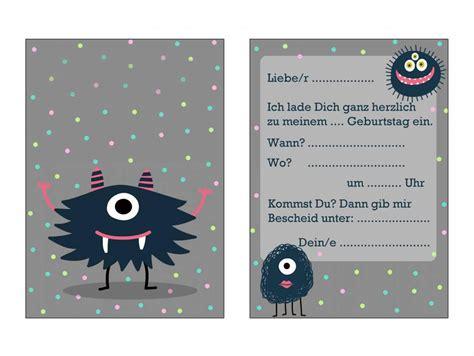 einladungskarten kindergeburtstag kostenlos ausdrucken