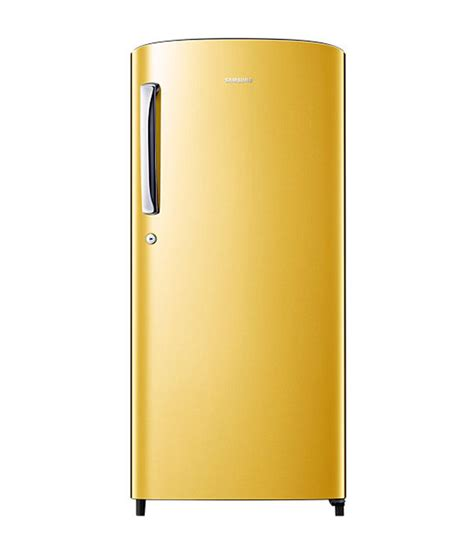 single door refrigerator samsung 192 ltr rr19h1784yt single door refrigerator