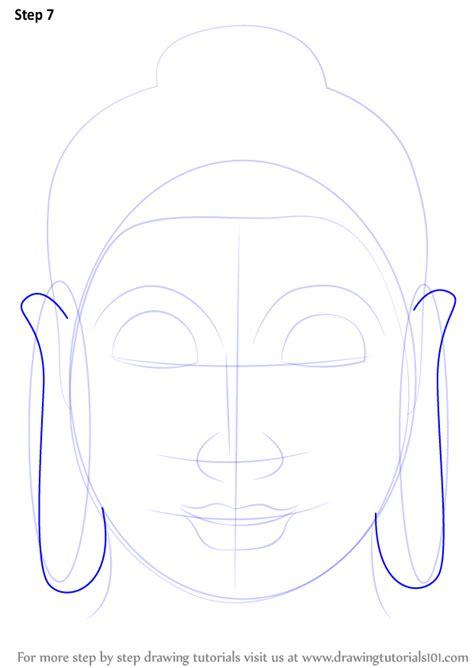 learn   draw buddha face buddhism step  step