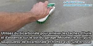 Nettoyer Mur Exterieur Bicarbonate : enfin une astuce pour enlever les taches d 39 huile sur le ~ Melissatoandfro.com Idées de Décoration