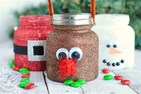 stylish christmas crafts treat jars i nap time