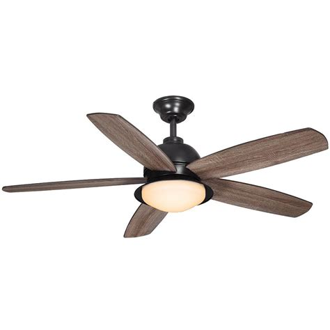 outdoor ceiling fans with led lights home decorators collection ackerly 52 in led indoor
